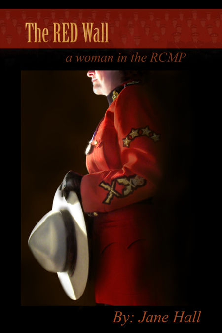Photograph of the Red Wall book by Jane Hall (retired RCMP member)