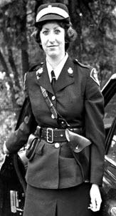 Photograph of Irene Lawrenson (nee Sobolewski)