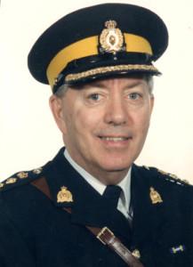 Photograph of RCMP C/Supt. Ed Wilson