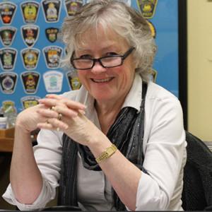 Photograph of RCMP Veteran Jane Hall