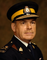 Photograph of RCMP Commissioner  Maurice Jean Nadon