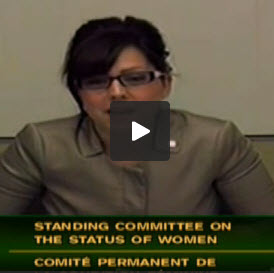 Image for the March 26, 2013 Committee meeting on the Status of Women