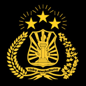 Indonesian National Police crest