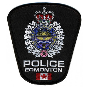 Edmonton Police badge