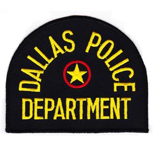 Dallas Police Badge