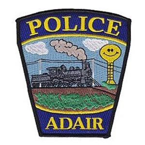 Adair Police badge