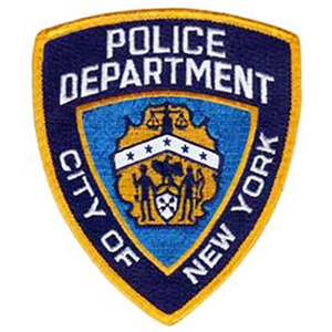 New York Police Department badge